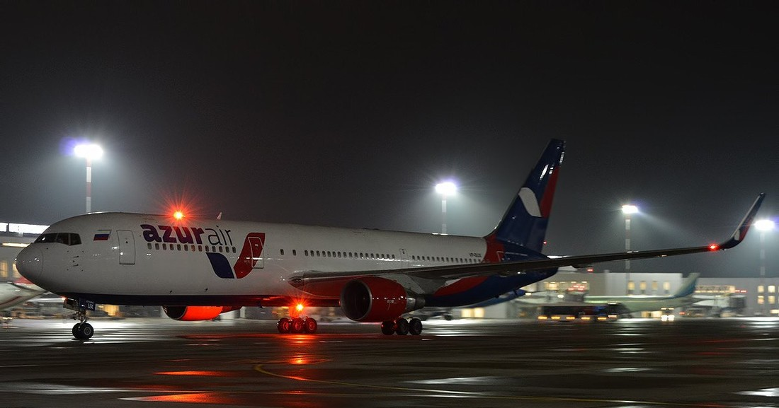 «Веерные проблемы» Azur Air: Анталия – Оренбург через Дубай